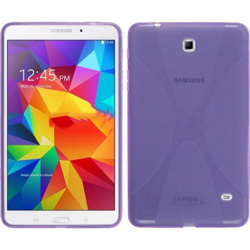 Силиконовый чехол X для Samsung Galaxy Tab 4 8.0 Белый