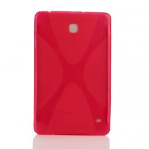 Силиконовый чехол X для Samsung Galaxy Tab 4 8.0 Розовый