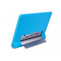 Силиконовая задняя панель софт тач премиум для Lenovo Yoga Tablet 8 Голубой