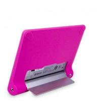 Силиконовая задняя панель софт тач премиум для Lenovo Yoga Tablet 8 Розовый