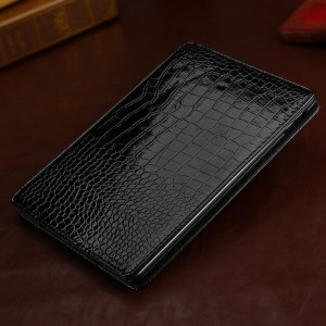 Чехол подставка серия Croco Pattern для Ipad Air 2 Черный