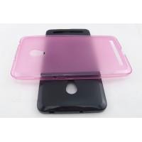 Полупрозрачный силиконовый чехол для ASUS Zenfone 5 (A502CG) Розовый