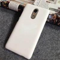 Пластиковый непрозрачный матовый чехол для Xiaomi RedMi Pro Белый