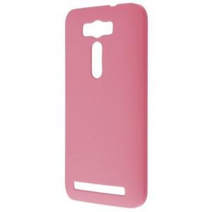 Пластиковый матовый непрозрачный чехол для ASUS Zenfone 2 Laser 5 ZE500KL Розовый