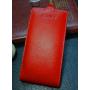 Чехол вертикальная книжка (нат. кожа) на пластиковой основе для Prestigio Multiphone Grace 7557