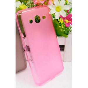 Силиконовый чехол для Samsung Galaxy Core 2 Розовый