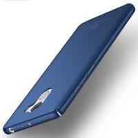 Пластиковый непрозрачный матовый чехол с улучшенной защитой элементов корпуса для Xiaomi RedMi 4 Синий