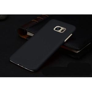 Пластиковый матовый непрозрачный чехол для Samsung Galaxy S7 Edge