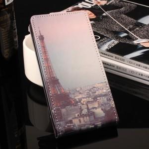 Чехол вертикальная книжка на силиконовой основе с полноповерхностным принтом на магнитной защелке для ASUS ZenFone 3 Max ZC553KL