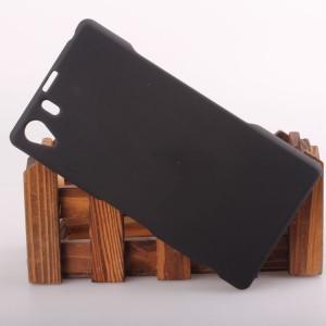 Пластиковый чехол для Sony Xperia Z1 Черный