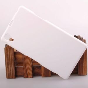 Пластиковый чехол для Sony Xperia Z1 Белый