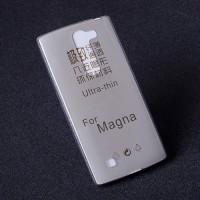 Силиконовый полупрозрачный чехол для LG Magna