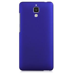 Пластиковый матовый чехол для Xiaomi Mi4 Синий
