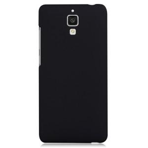 Пластиковый матовый чехол для Xiaomi Mi4 Черный