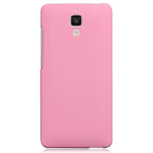 Пластиковый матовый чехол для Xiaomi Mi4 Розовый