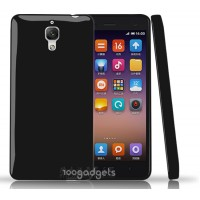 Силиконовый непрозрачный чехол для Xiaomi Mi4