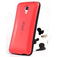 Эргономичный силиконовый чехол повышенной защиты для Xiaomi Mi4 Красный