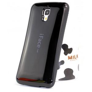 Эргономичный силиконовый чехол повышенной защиты для Xiaomi Mi4 Черный
