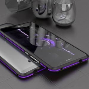 Металлический округлый бампер сборного типа на винтах для Huawei Mate 9
