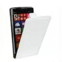 Клеевой чехол вертикальная книжка с магнитной застежкой для Lenovo Vibe S1 Белый