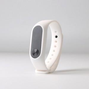Антискользящий силиконовый гиппоаллергенный чехол для Xiaomi Mi Band 2