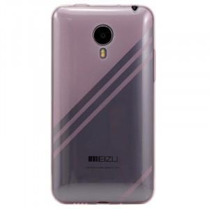 Ультратонкий дизайнерский силиконовый чехол для Meizu MX4