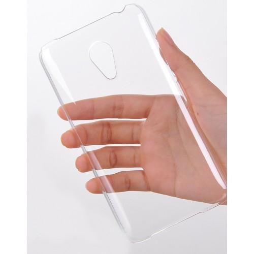 Пластиковый транспарентный чехол для Meizu MX4