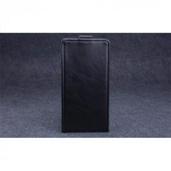 Клеевой чехол вертикальная книжка с магнитной застежкой для Highscreen Power Ice