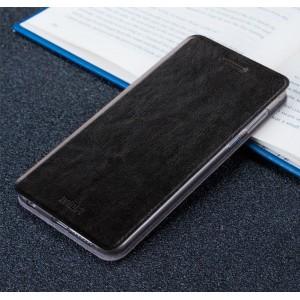 Чехол флип подставка на силиконовой основе для Iphone 5/5s/SE Черный
