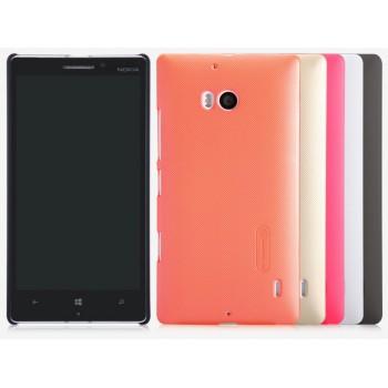 Пластиковый матовый нескользящий премиум чехол для Nokia Lumia 930