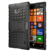 Чехол силикон/поликарбонат подставка экстрим защитный для Nokia Lumia 930