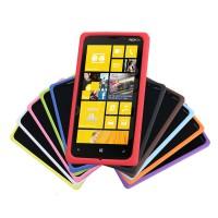 Силиконовый софт-тач премиум чехол для Nokia Lumia 930