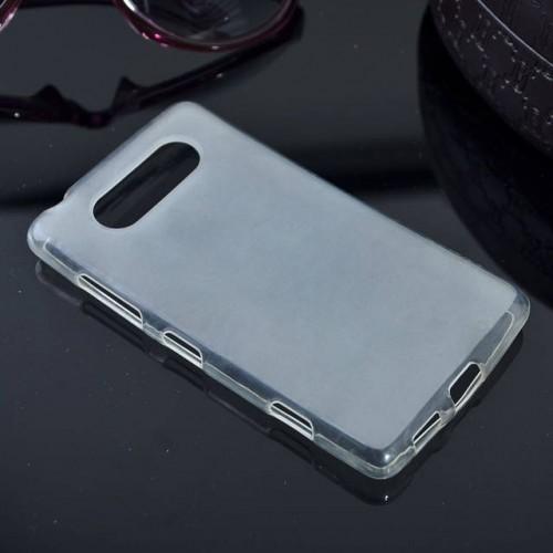 Силиконовый полупрозрачный чехол для Nokia Lumia 820
