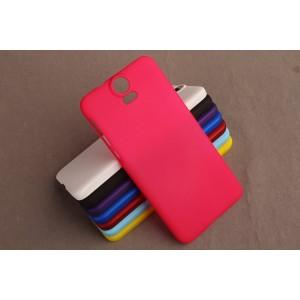 Пластиковый матовый непрозрачный чехол для HTC One E9+