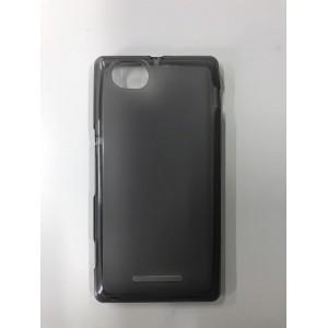 Полупрозрачный силиконовый чехол для Sony Xperia M