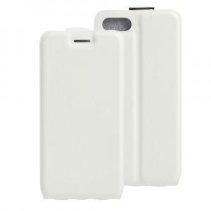 Чехол вертикальная книжка на силиконовой основе с отсеком для карт на магнитной защелке для Iphone 7/8 Белый