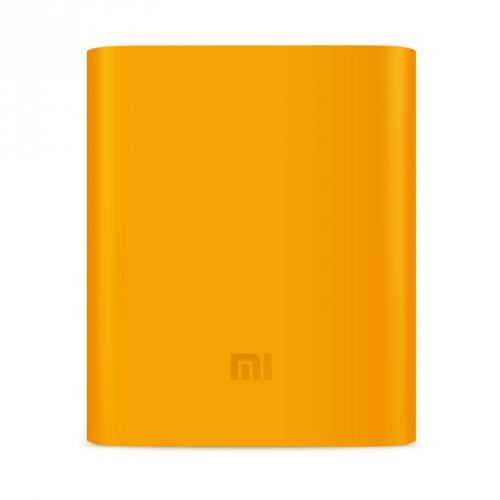 Силиконовый противоударный чехол для портативного зарядного устройства Xiaomi 10400 mAh Голубой