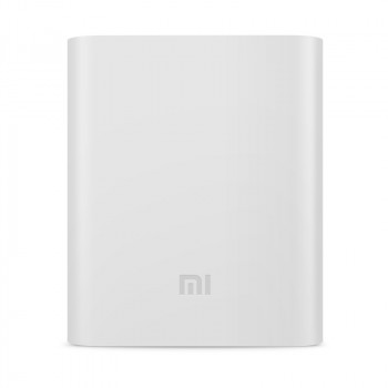 Силиконовый противоударный чехол для портативного зарядного устройства Xiaomi 10400 mAh Белый