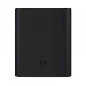Силиконовый противоударный чехол для портативного зарядного устройства Xiaomi 10400 mAh Черный