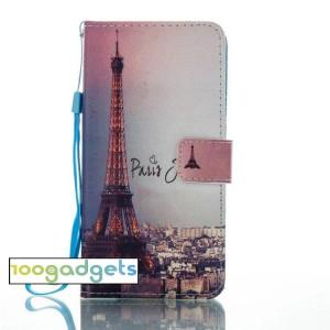 Чехол горизонтальная книжка подставка на силиконовой основе с отсеком для карт и полноповерхностным принтом на магнитной защелке для Huawei Honor 8 Lite
