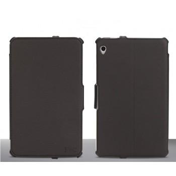 Чехол подставка текстурный для планшета Acer Iconia W3 Черный