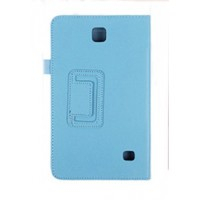 Чехол подставка серия Full Cover для Samsung Galaxy Tab 4 8.0 Голубой
