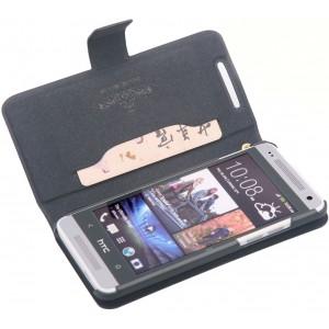 Чехол флип с отделением для карт для HTC One Mini