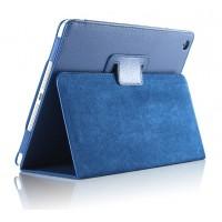 Чехол подставка с рамочной защитой серия Full Cover для Ipad Air 2 Синий