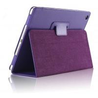 Чехол подставка с рамочной защитой серия Full Cover для Ipad Air 2 Фиолетовый