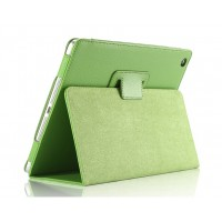 Чехол подставка с рамочной защитой серия Full Cover для Ipad Air 2 Зеленый