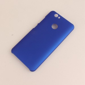 Пластиковый непрозрачный матовый чехол для Huawei Nova Синий