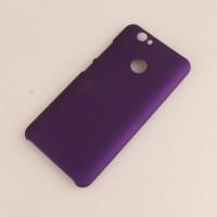Пластиковый непрозрачный матовый чехол для Huawei Nova Фиолетовый