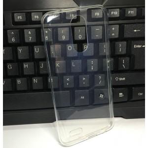 Силиконовый глянцевый транспарентный чехол для LG K10 (2017)