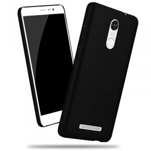 Пластиковый матовый металлик чехол для Xiaomi RedMi Note 3
